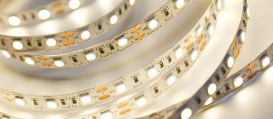 Différents types de ruban LED